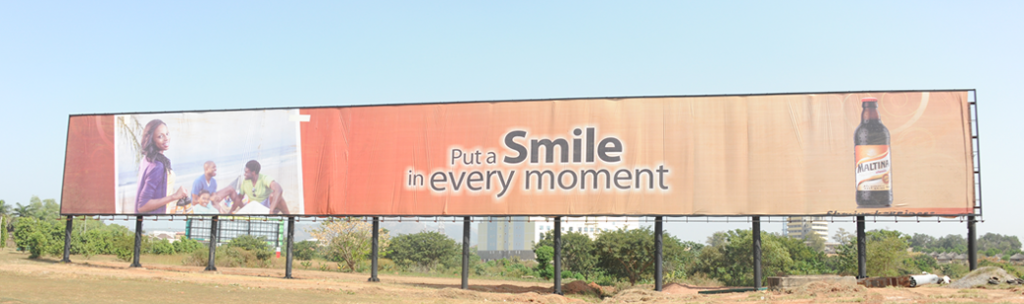 first biggest  Mega bill board in Africa